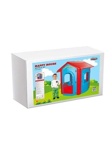 Pilsan Mutlu Çocuk Evi - Happy House - Çocuk Oyun Evi Renkli